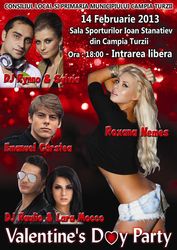 Concert de valentine 39 s day la c mpia turzii - Cash express la valentine ...